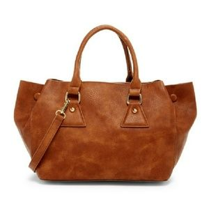 Pink Haley Rhiannon Tote in Brown